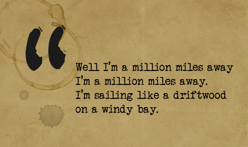 one million miles away